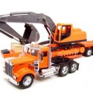 Peterbilt 379 Construction Trailer 1:32 diecast