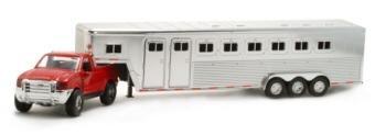 Ford F-350 w/ HorseTrailer 1:32 diecast