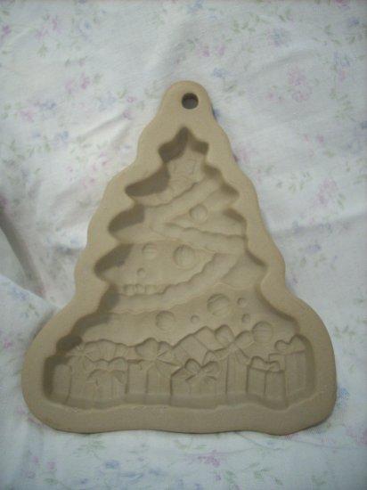 Ceramic Christmas Tree Cookie Mold