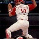 1995 Stadium Club 166 Eddie Taubensee
