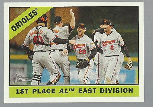 2015 Topps Heritage 348 Baltimore Orioles