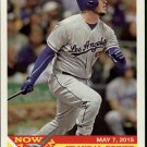 2015 Topps Heritage Now and Then #NT13 Yasmani Grandal