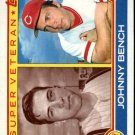 1983 Topps 61 Johnny Bench SV