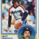 1983 Topps 611 Bert Roberge