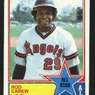 1983 Topps 386 Rod Carew AS