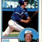 1983 Topps 302 Ernie Whitt