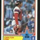 1983 Topps 393 Carlton Fisk AS