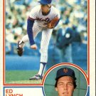 1983 Topps 601 Ed Lynch