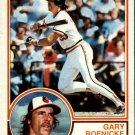 1983 Topps 605 Gary Roenicke