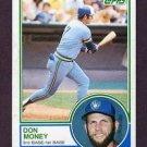 1983 Topps 608 Don Money
