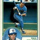 1983 Topps 630 Paul Molitor