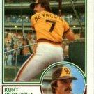 1983 Topps 674 Kurt Bevacqua