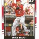 2016 Donruss 83A Mike Trout