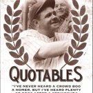 2016 Leaf Babe Ruth Collection Quotables Q8 Babe Ruth
