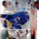 2016 Topps 346 Corey Kluber/Dallas Keuchel/Marco Estrada LL