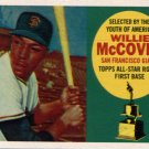 2016 Topps Berger's Best BB9 Willie McCovey