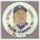 2016 Topps Heritage Discs #67TDCMC Miguel Cabrera