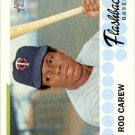 2016 Topps Heritage Baseball Flashbacks BFRCA Rod Carew