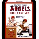 2016 Wacky Packages MLB #4 Angels Food Cake Mix