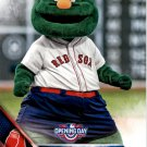 2016 Topps Opening Day Mascots M-4 Wally The Green Monster
