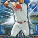 2015 Bowman Chrome Draft Scouts Fantasy Impacts BSI-JA Jorge Alfaro
