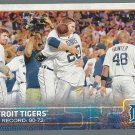 2015 Topps 126 Detroit Tigers