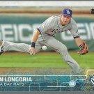 2015 Topps 250A Evan Longoria