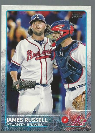 2015 Topps 255 James Russell