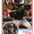 2015 Topps Archives #221 Marcell Ozuna