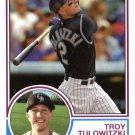 2015 Topps Archives 238 Troy Tulowitzki
