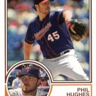 2015 Topps Archives 243 Phil Hughes