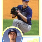 2015 Topps Archives 249 Jake Odorizzi
