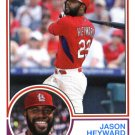 2015 Topps Archives 256 Jason Heyward