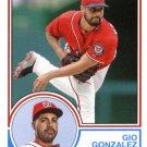 2015 Topps Archives 266 Gio Gonzalez