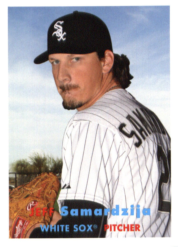 2015 Topps Archives 34 Jeff Samardzija