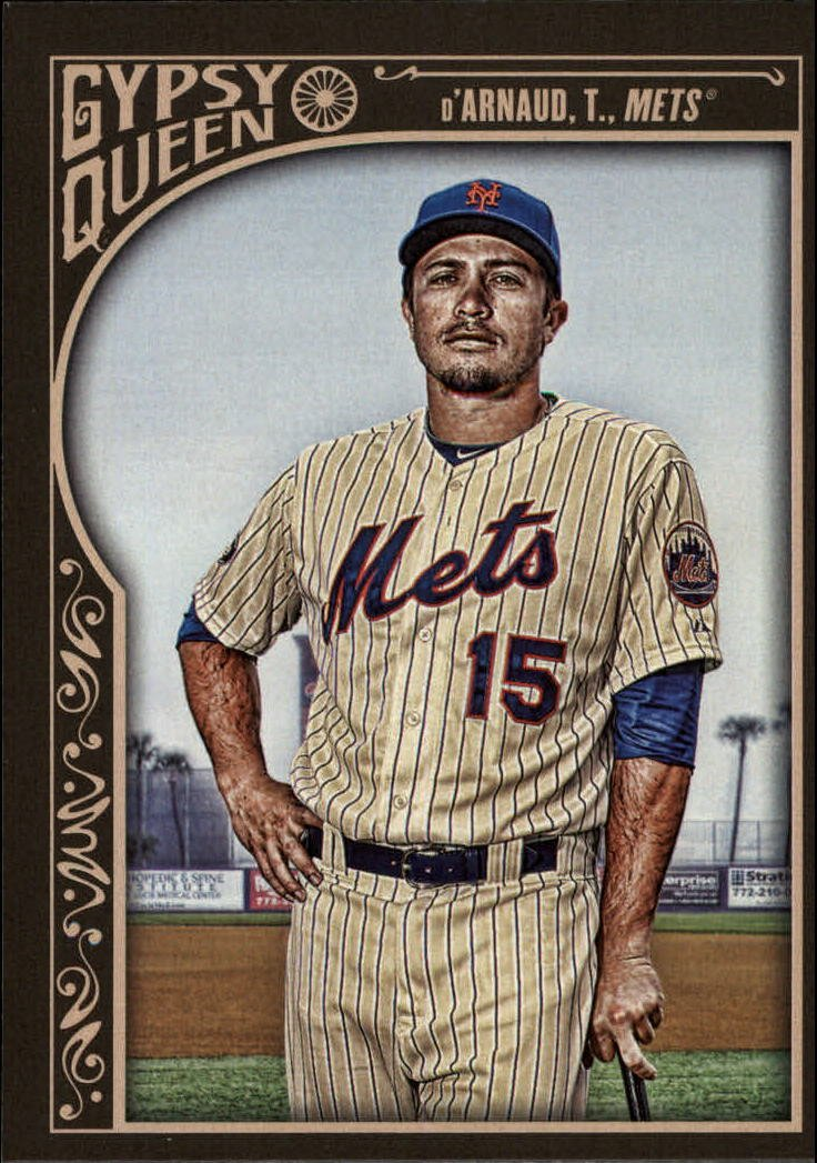 2015 Topps Gypsy Queen 196 Travis d'Arnaud