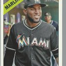 2015 Topps Heritage 105 Marcell Ozuna