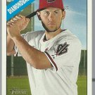 2015 Topps Heritage 182 Chris Owings