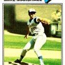 1977 Topps 263 Mike Marshall