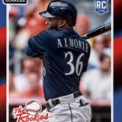 2014 Donruss The Rookies 21 Abraham Almonte