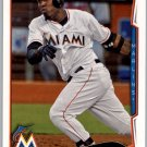 2014 Topps 70 Marcell Ozuna