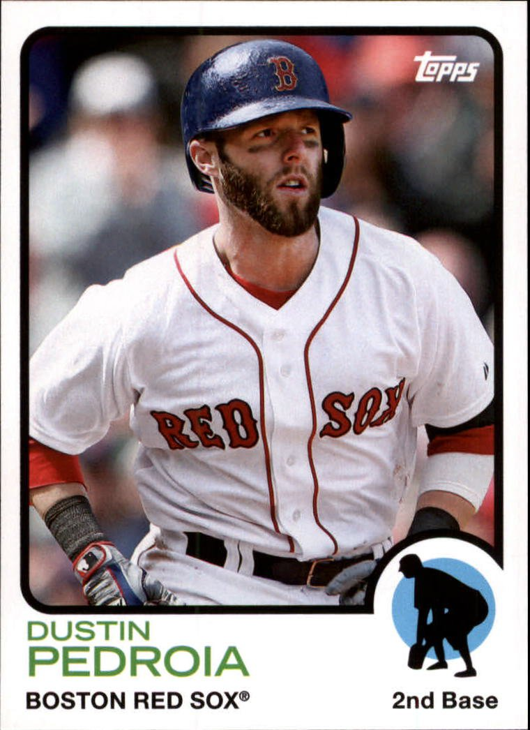 2014 Topps Archives 7 Dustin Pedroia