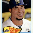 2014 Topps Heritage 163 Wily Peralta