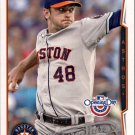 2014 Topps Opening Day 139 Jarred Cosart