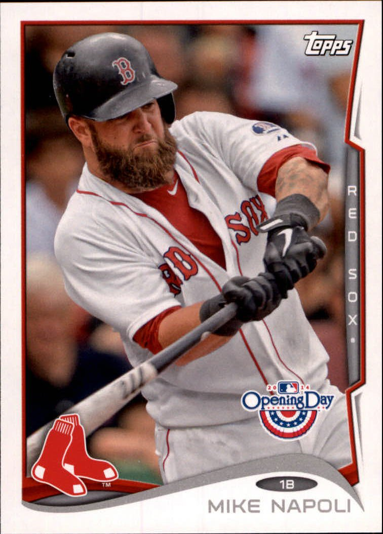 2014 Topps Opening Day 8 Mike Napoli