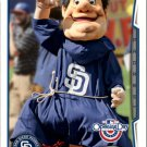 2014 Topps Opening Day Mascots M22 Swinging Friar