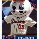 2014 Topps Stickers 174 Atlanta Braves Mascot