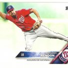 2016 Topps 520 Anthony Rendon