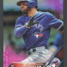 2016 Topps Chrome Pink Refractors 102 Kevin Pillar