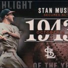 2015 Topps Highlight of the Year H-5 Stan Musial